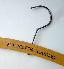 Butlin's coat hanger