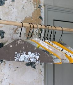 DIY Fabric Covered Clothes Hanger