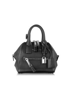 6e30900bf9fa Marc Jacobs Black Textured Mini Incognito Bag at FORZIERI Leather Shoulder  Bag