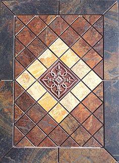 60 Best Tile Medallions Images Tiles Flooring Mosaic