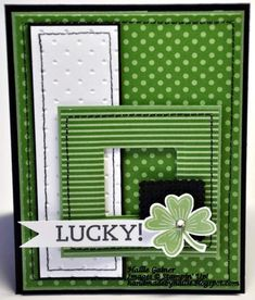 Lucky! - MOJO335 by Hallie G. - Cards and Paper Crafts at Splitcoaststampers