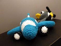 Háčkovaný letecký den... / Crochet aircraft day