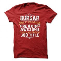 Budget Manager T Shirts, Hoodies. Get it now ==► https://www.sunfrog.com/No-Category/Bursar-8000-Red-55093235-Guys.html?57074 $20.99