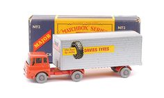 Matchbox Major Pack No.M2 Bedford TK Articulated Truck And Trailer