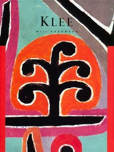 "Paul Klee (1879-1940). Cover of Klee (1985) in Masters of Art Series. ""Reproduces 40 of Swiss painter Paul Klee's artworks in full color, each with commentary by critic Will Grohmann, a longtime friend of Klee."""