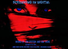 """The YES! Weekly Blog: """"Screaming in Digital"""" works by local artists Jon ..."""