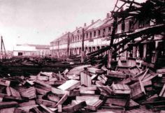 En sabotageaktion på havnen i Esbjerg 6. august 1943 førte til tyske repressalier og efterfølgende generalstrejke i byen.