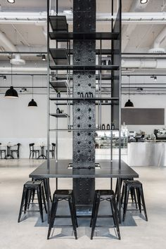 Usine Bistro & Bar in Stockholm, Sweden interior by mikael axelsson