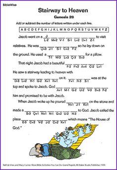 Stairway to Heaven - Kids Korner - Biblewise