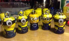 Minion cork craft