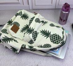 Pineapple Canvas Backpack – Larry's Goods LLC