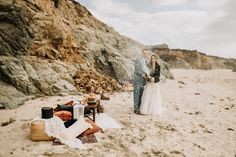 Celebrate! Big Sur California Elopement Pebble Beach California, Big Sur California, California Coast, California Wedding, Elopement Inspiration, Elopement Ideas, Wedding Week, Romantic Picnics, Beach Elopement