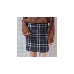 Plaid Wool Blend Mini Skirt ($35) ❤ liked on Polyvore featuring skirts, mini skirts, women, plaid miniskirts, short plaid mini skirt, tartan plaid skirt, mini skirt and navy skirt