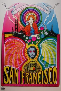 Designed by Tom Connell & Tom Cervenak • The End of Western Civilization  San Francisco  1966