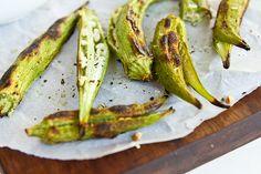 Grilled Okra by foodiebride, via Flickr