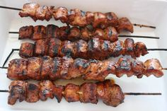 Filipino Pork Kebabs (Pinoy) - This kebab recipe is sooooo delicious. Give this recipe a try the next time you want to grill.