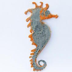 Obrazek konik morski - Karneol