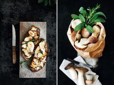 Brot mit gebratenen Pilzen | KRAUTKOPF