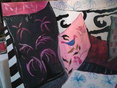 almofadas rosa