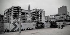 Birmingham Central Library, demolition.