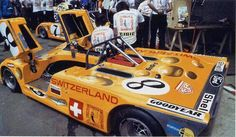 BonGrip Lola T280 HU2, Le Mans, 1972. The car was crashed and Jo Bonnier killed. Thank's to the person who took this picture of Bonnier's great Lola car before the start of the race.