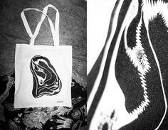 Laura Morales Photo - Illustration Illustration Photo, Zine, Reusable Tote Bags, Black And White, Portrait, Photography, Art, Art Background, Photograph