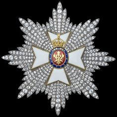 Royal Victorian Order - Knight Grand Cross star (Collingwood, London, 92mm x 92mm, early 20th C.) (obverse)