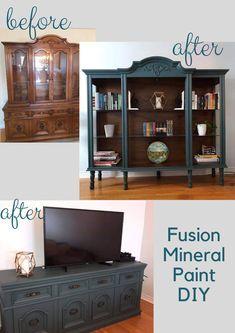 Refurbished Furniture, Paint Furniture, Repurposed Furniture, Furniture Projects, Furniture Making, Repurposed China Cabinet, Diy Furniture Upcycle, Refurbished Cabinets, Diy Nursery Furniture