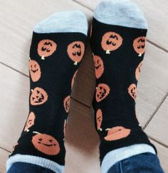 don't forget to wear your Halloween socks!