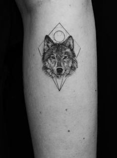 Wolf Tattoos – Tattoo Insider Wolf Tattoos – Tattoo Insider This image has g… - Body Art Wolf Tattoos, Cute Tattoos, Leg Tattoos, Beautiful Tattoos, Body Art Tattoos, Small Tattoos, Tattoos For Guys, Tattos, Wolf Face Tattoo