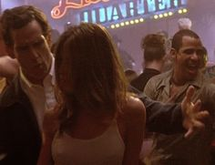 Jennifer Aniston on the dance floor ~ GIF