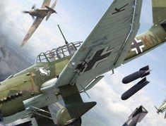 «Штука» в небе: почему Junkers Ju 87 не убирал шасси во время полета и страшно ревел перед сбросом бомбы