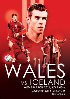 Wales v Iceland 2014: Gareth Bale, Chris Gunter