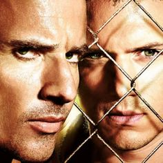 Prison Break - Wentworth Miller (Michael Scofield) and Dominic Purcell (? Movies And Series, Best Series, Best Tv Shows, Best Shows Ever, Dominic Purcell, Michael Scofield, Film D'animation, Film Serie, Prison Break 3
