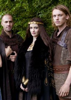 Eva Green for 'Camelot' with Joseph Fiennes and Jamie Campbell Bower