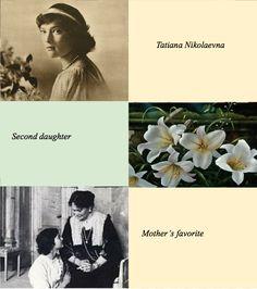 Romanov sisters aesthetics - Tatiana Nikolaevna