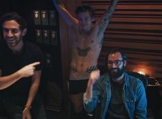 when harold strips down for mitch in the movie