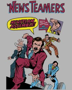 NewsTeamers T-Shirt $10 Anchorman tee at ShirtPunch today only!
