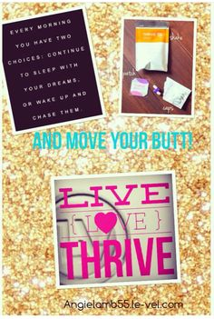 Thrive by Le-Vel. Formulated by a world renowned naturopathic expert. Amazing formula.
