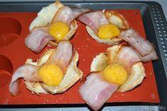 Cestini di uova e bacon 7