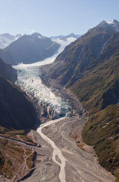 Walking a Glacier in New Zealand