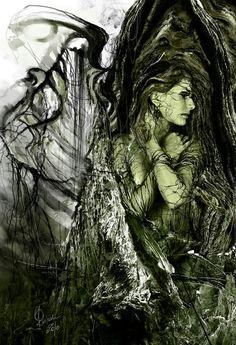 Fallen fallen forest ceiling) forest angel