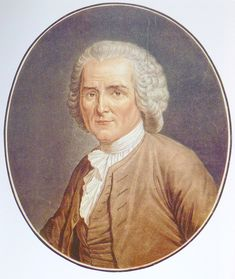 Rousseau - a Francophone Genevan philosopher, writer, and composer of the 18th century.