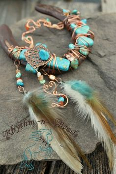 Beaded Horseshoe by Rhythm-n-Beads © Decorated western rustic horsesehoes.  www.facebook.com/rhythmbeads