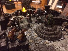 Savage Worlds Ripper campaign with DwarvenForge tiles Rpg Board Games, Savage Worlds, Tiles, Campaign, Outdoor Decor, Home Decor, Room Tiles, Decoration Home, Room Decor