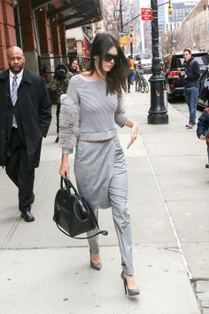 Kendall Jenner's street style game proves how she can always make every outfit look chic. See here for more of her looks.