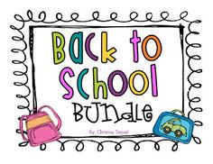 Back to School Bundle Pack