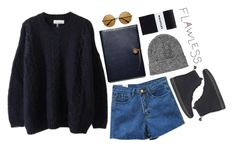 """""""Going Grunge"""" by emc1397 ❤ liked on Polyvore featuring Dr. Martens, Coach and Topshop"""