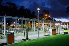 Leederville Town Centre Landscape Architect: Blackwell & Associates Electrical & Lighting Engineer: Wood & Grieve Engineers Electrical Contractor: Stiles Electrical Builder: Advanteering Civil Engineers Photographer: Ron Tan  iGuzzini Crown
