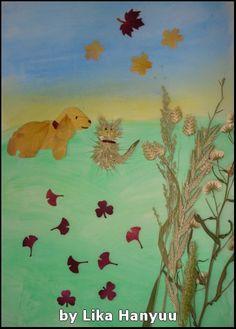 Lika Hanyuu - Oshibana - Flores Secas: [Oshibana] Paisagem 1